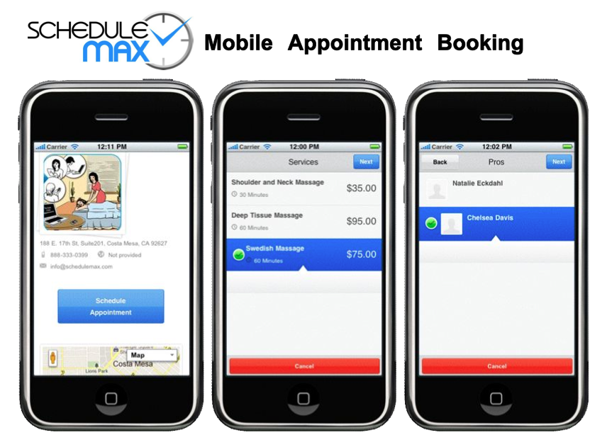 Mobile Booking with Responsive Design